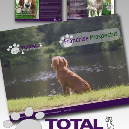 Total Pet Services – Brochure design